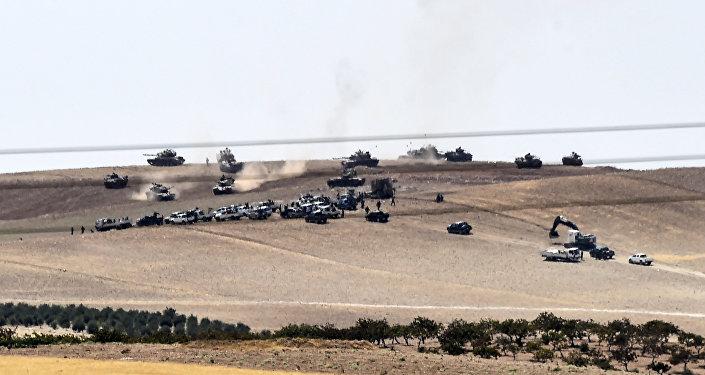 Las FFAA de Turquía en Siria