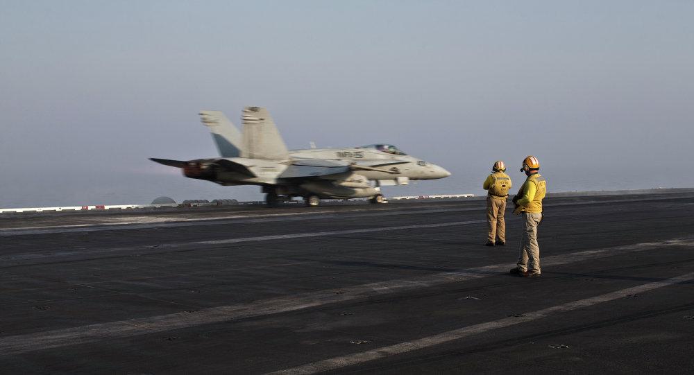 Las Fuerzas Aéreas de EEUU en Siria (archivo)