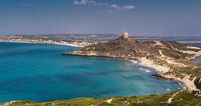 Isla italiana de Cerdeña
