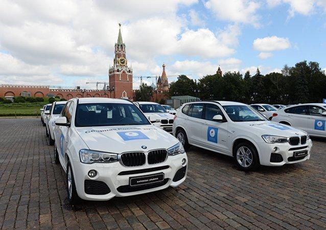 Cada medallista olímpico ruso recibió un BMW de premio
