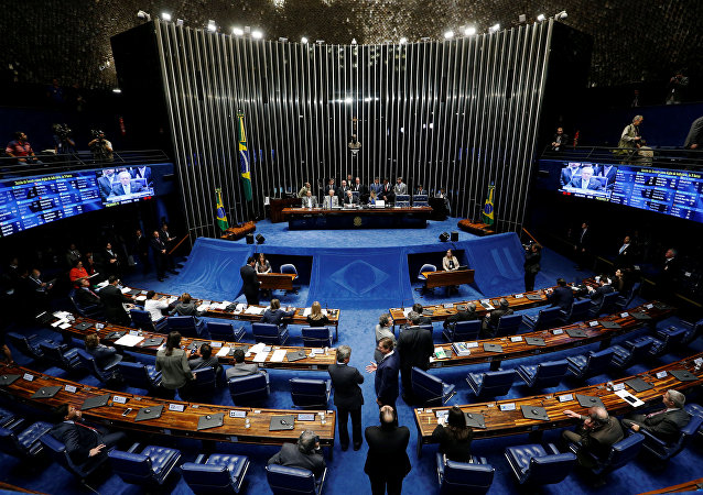 El senado de Brasil (archivo)