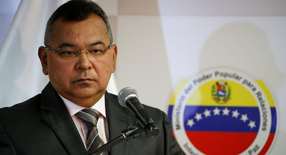 Néstor Reverol, ministro de Relaciones Interiores, Justicia y Paz de Venezuela