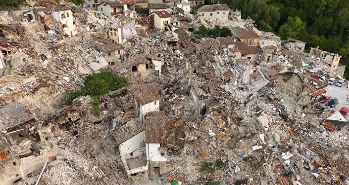Los daños provocados por el terremoto en Italia