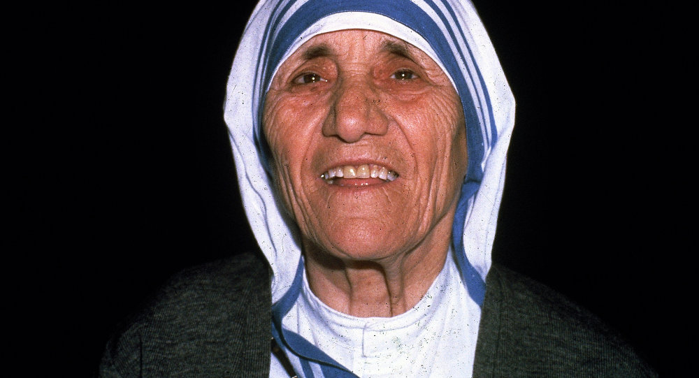 Madre Teresa La Paz Comienza Con Una Sonrisa Sputnik Mundo
