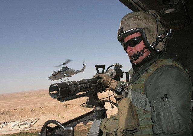 Helicóptero AH-1W SuperCobra