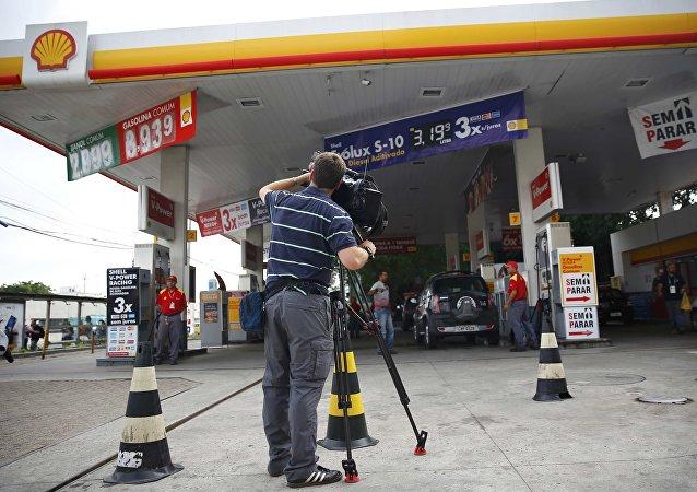La gasolinera de Río de Janeiro en la que el nadador estadounidense Ryan Lochte y otros tres atletas olímpicos realizaron destrozos