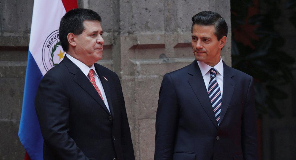 Presidente Cartes De Paraguay Realiza Visita Oficial A México Para