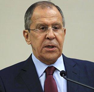 Serguéi Lavrov, ministro de Asuntos Exteriores de Rusia