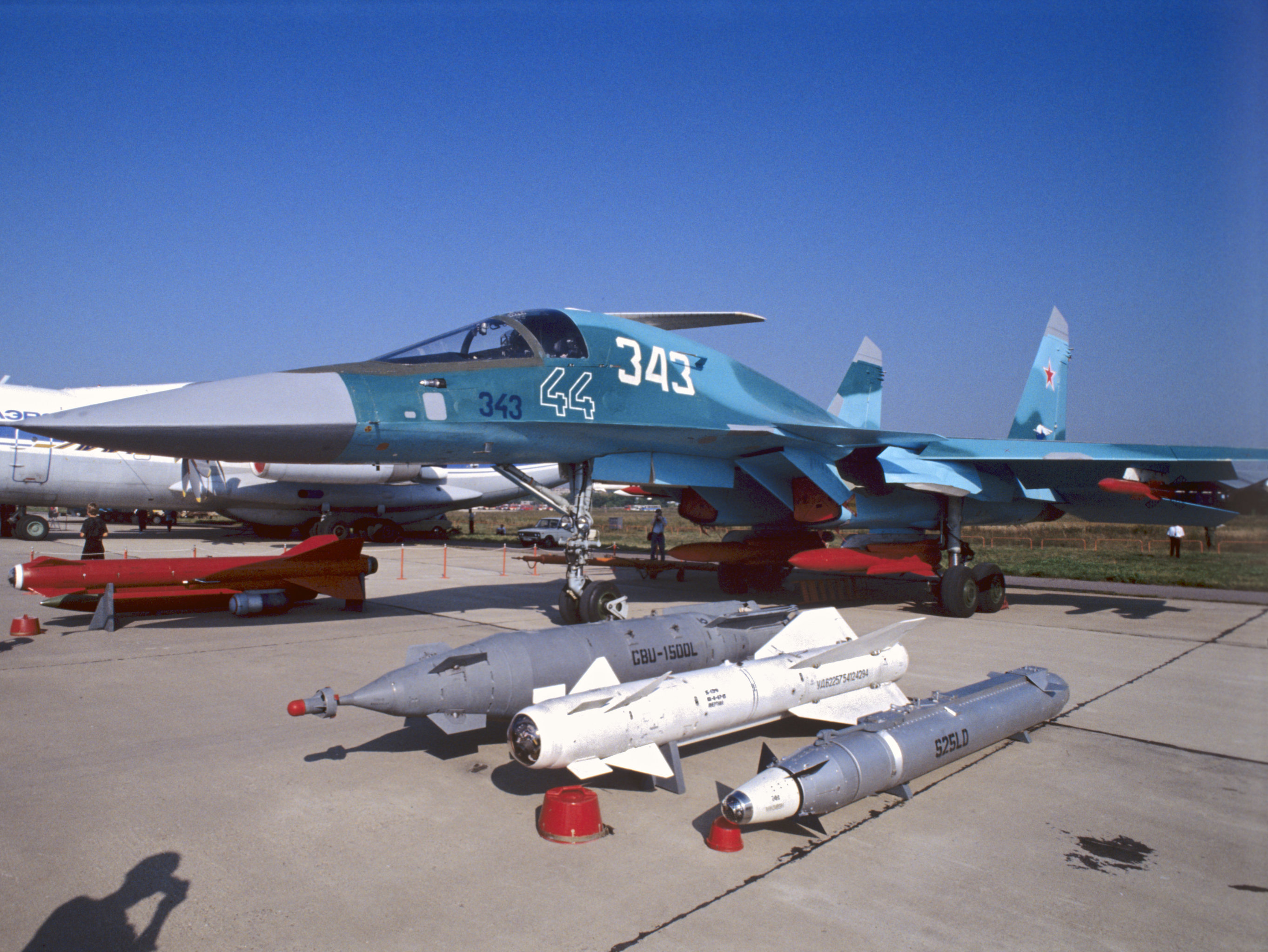 Caza ruso Su-32