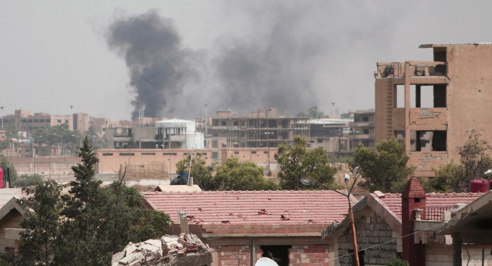 La ciudad de Hasaka en Siria. El 21 de agosto del 2016