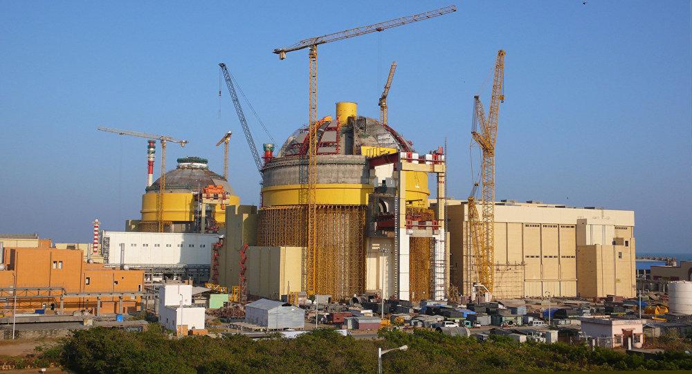 La planta nuclear india de Kudankulam