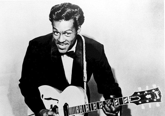 Chuck Berry, el músico estadounidense