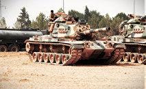 Tanque turco en Yarabulus