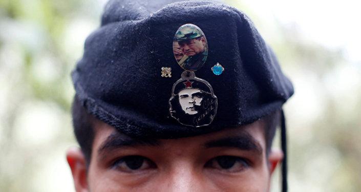 El miembro de FARC (archivo)