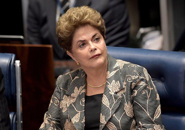 Dilma Rousseff, la expresidenta de Brasil