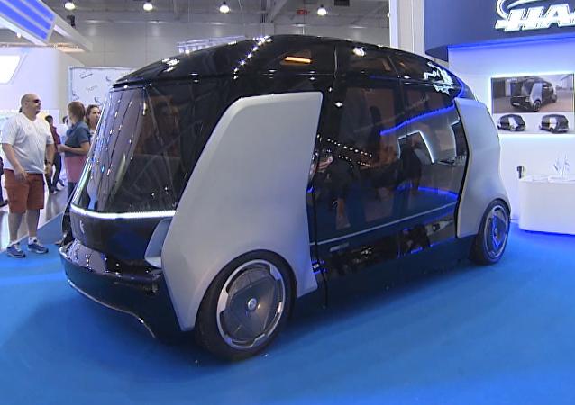 Kamaz presenta el innovador microbús no tripulado