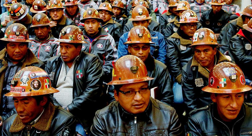 Mineros de Bolivia