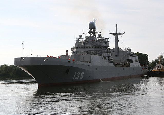 El buque de asalto anfibio ruso, Iván Gren