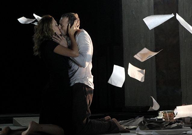 El espectáculo 'El maestro y Margarita'