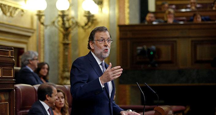 Mariano Rajoy, el presidente del Gobierno de España