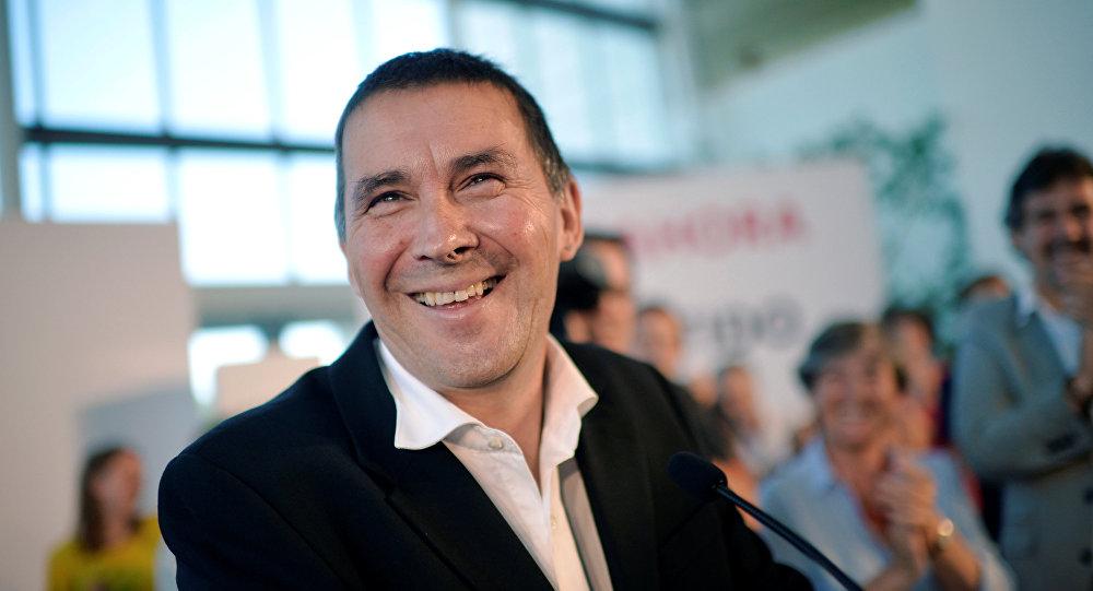 Arnaldo Otegi, el coordinador del partido independentista vasco EH Bildu