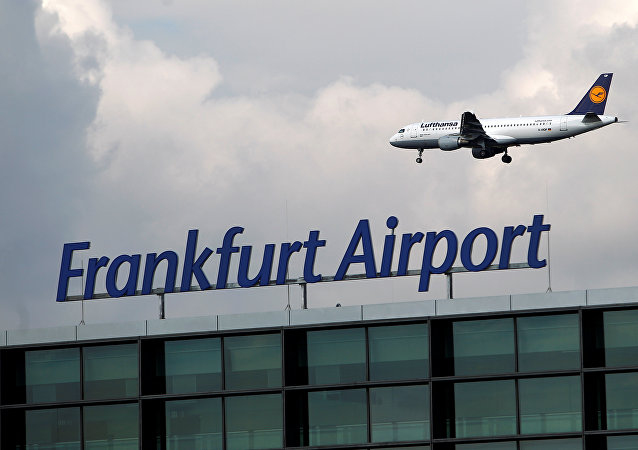 El aeropuerto de Fráncfort (archivo)