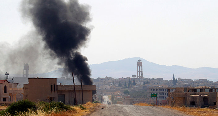 Situación en la provincia de Hama, Siria (imagen referencial)