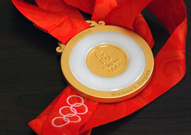 La medalla de oro de los JJOO de Pekín 2008
