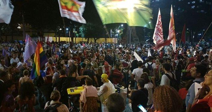 Protestas contra Temer en Brasil