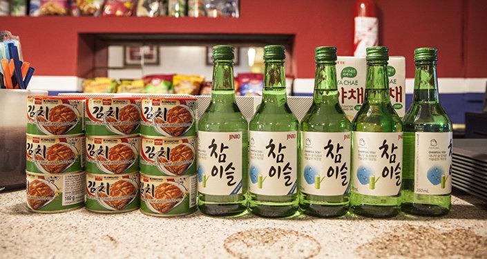 En el Pyongyang Café se sirven productos coreanos pero con muchas restriciones a causa del bloqueo comercial y sanciones internacionales