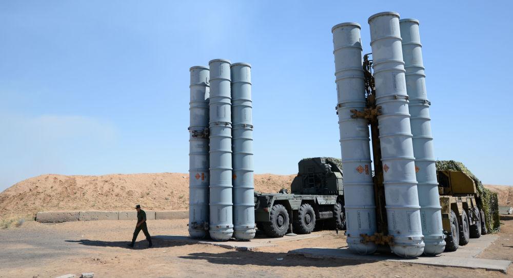 Resultado de imagen de defensa aérea S300 en Siria