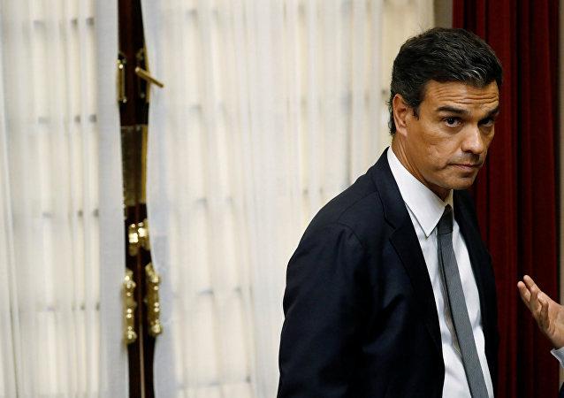 Pedro Sánchez, el secretario general de los socialistas del PSOE