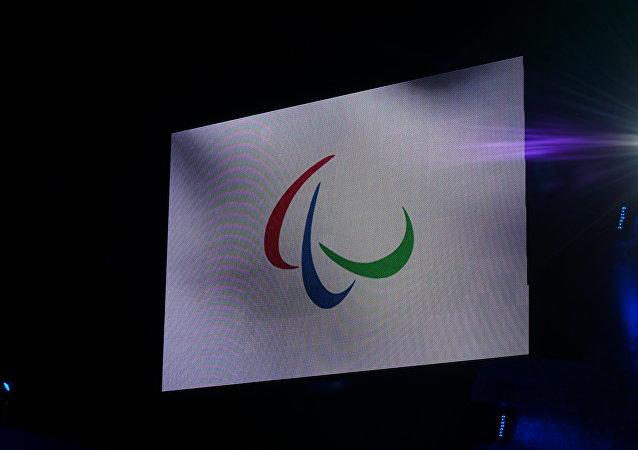 Bandera del Comité Paralímpico Internacional