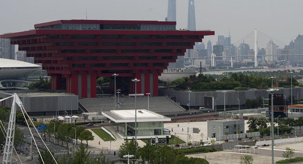 La sede de Banco de Desarrollo del BRICS