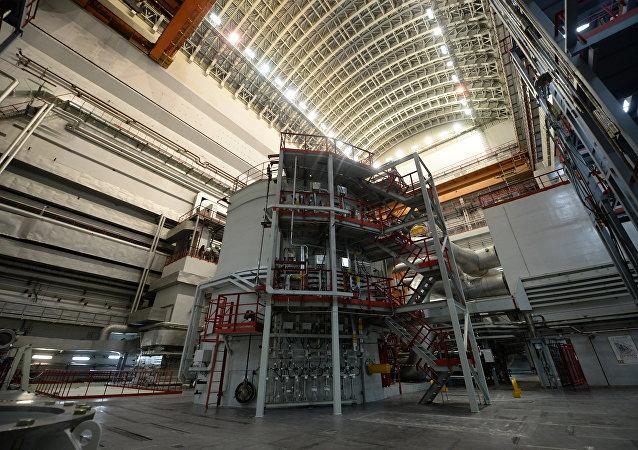 Reactor número 4 de la central nuclear de Beloyarsk