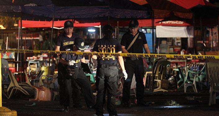 Policía en Filipinas