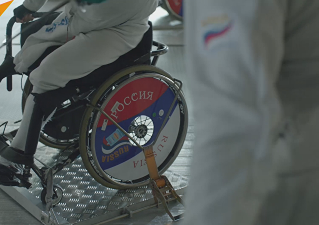 Nuevo vídeo de los deportistas paralímpicos rusos