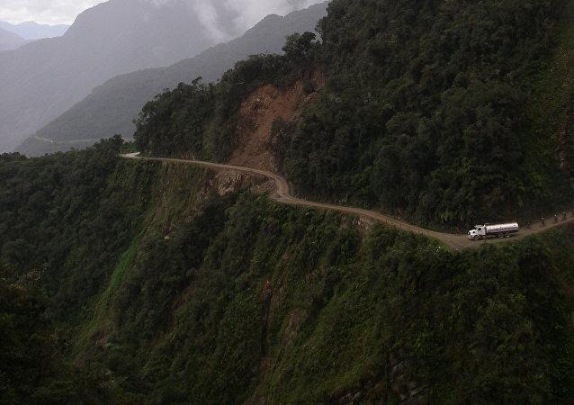 Un camino en Bolivia (imagen referencial)