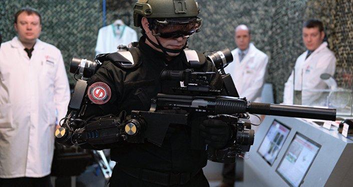 Proyecto de exoesqueleto militar ruso