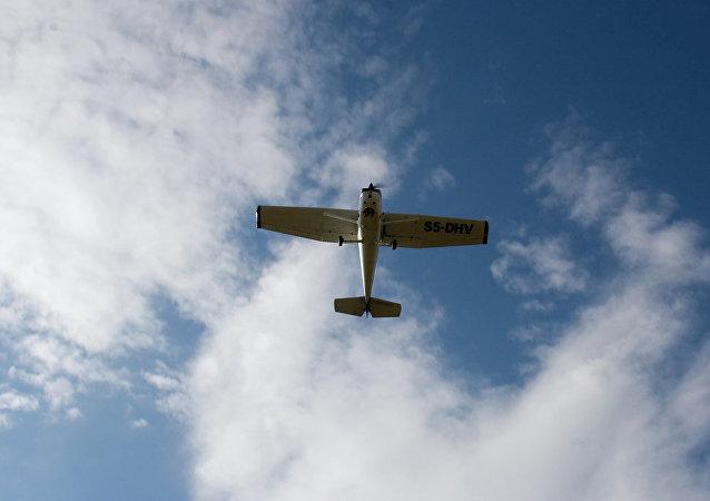 Una avioneta (imagen referencial)