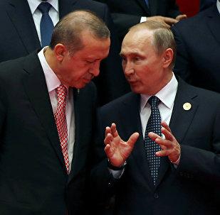 Recep Tayyip Erdogan y Vladímir Putin