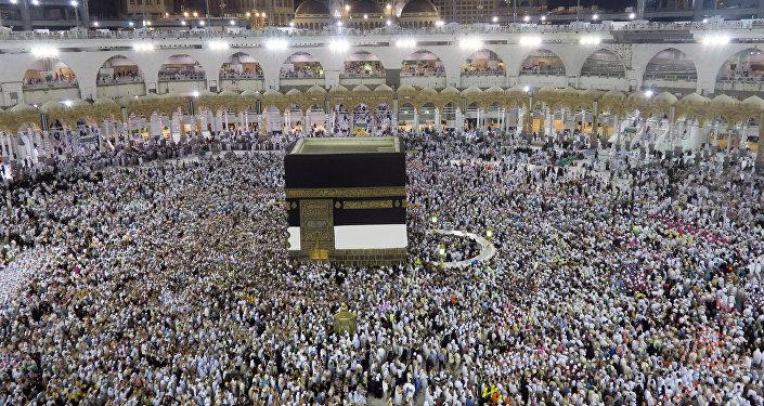 Kaaba, La Meca (archivo)