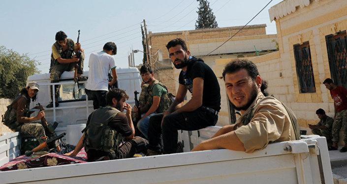 Militares del Ejército Libre Sirio (ELS)