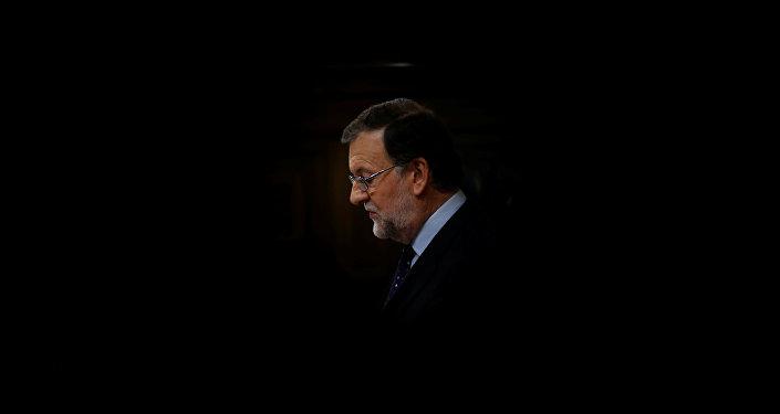 Mariano Rajoy, presidente del Gobierno español y líder del Partido Popular (PP)