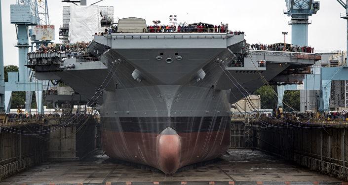 el portaviones USS Gerald R. Ford