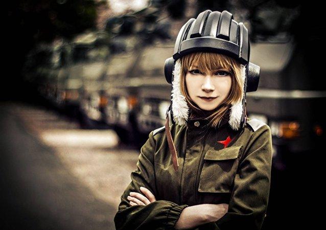 Nastya, una estudiante de Moscú