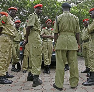 Los militares de Tanzania (archivo)