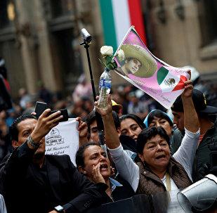 Los fans del cantautor mexicano Juan Gabriel