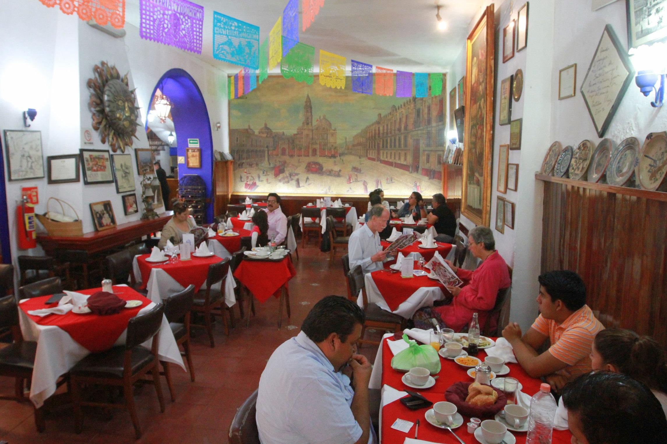 La hostería Santo Domingo, Ciudad de México