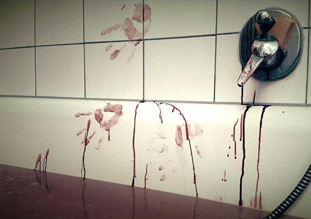 Lugar de un asesinato (ilustración)